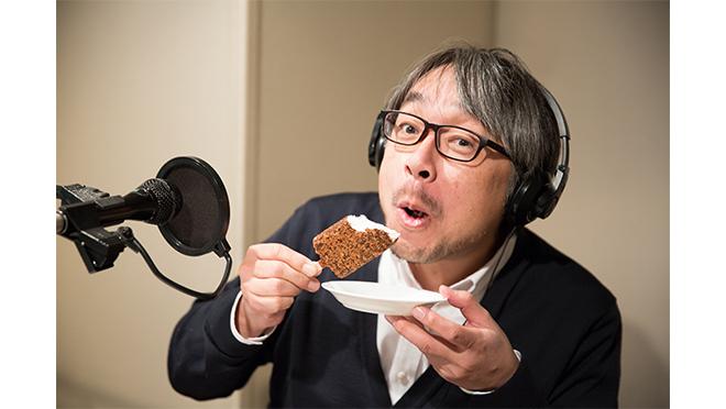 小山薫堂さん 試食風景